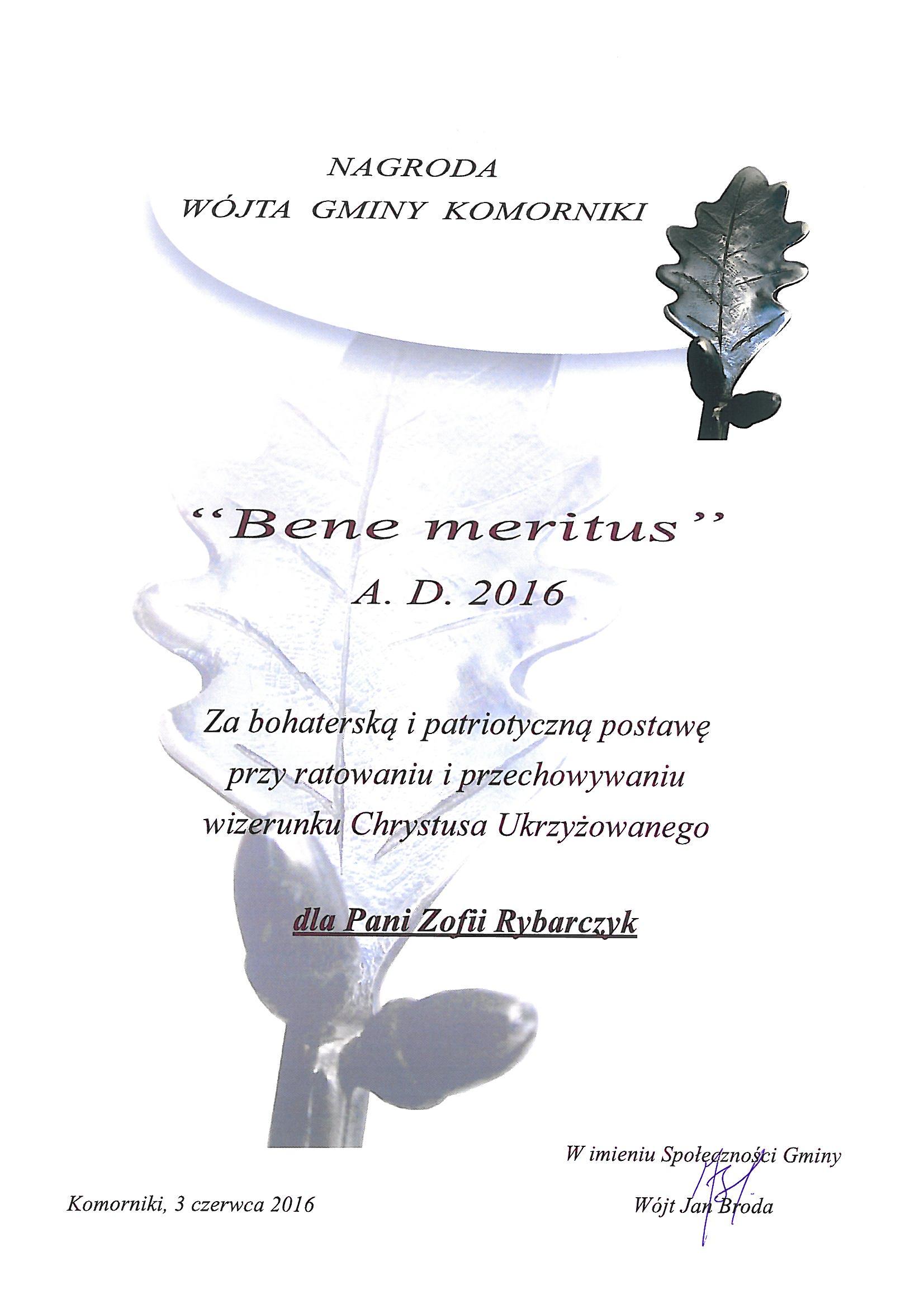 - benemeritus2016_zofia_rybarczyk.jpg